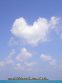 Even the clouds love you
